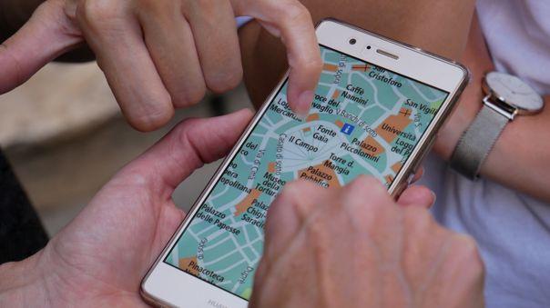 Aplicación de rastreo