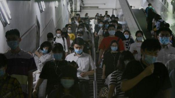 El nuevo coronavirus parecía casi eliminado en China, donde irrumpió a finales de 2019 en Wuhan.