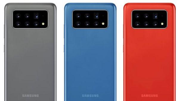 Así luciría un celular con seis cámaras posteriores.