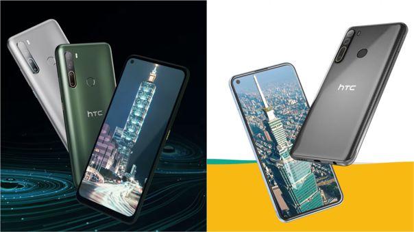Estos son los nuevos teléfonos de HTC lanzados en Taiwán.