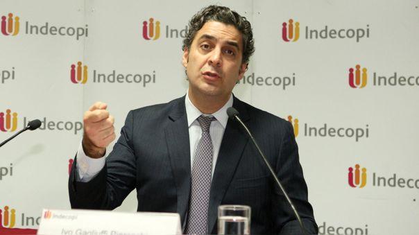 Ivo Gagliuffi renunció a Indecopi.