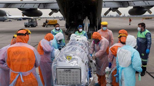 Chile se ubica entre los 10 países del mundo con mayor cantidad de personas contagiadas.