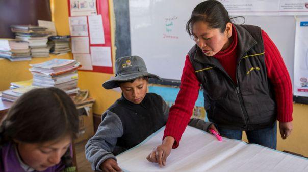 Gobierno busca el retorno a las aulas en zonas rurales.