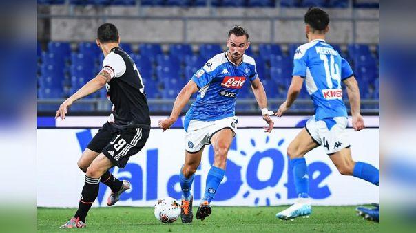 Juventus vs.  Napoli por la final de la Copa Italia