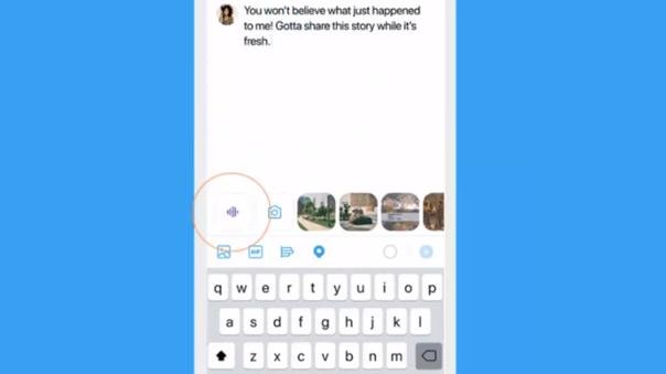 Twitter añadirá una nueva función para grabar voz y comenzó el despliegue en iOS