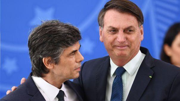 Nelson Teich renunció al ministro de Salud renunció por