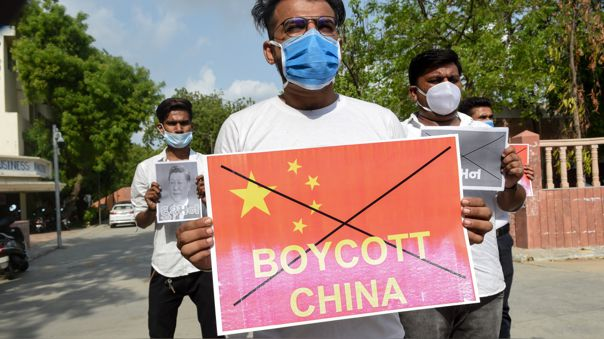 INDIA-CHINA-CONFLICT-PROTEST