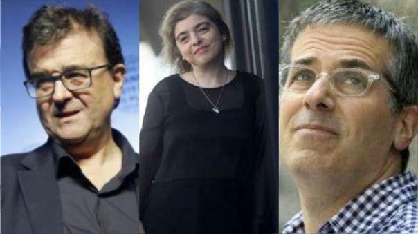 Javier Cercas, Mariana Enríquez y Jonathan Lethem