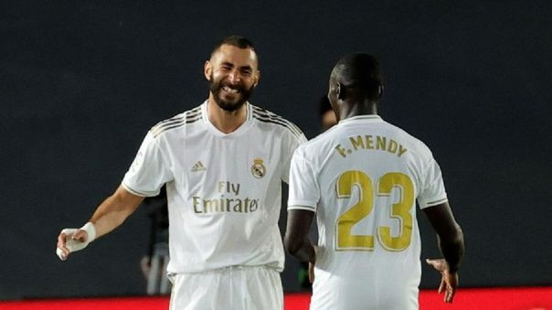 Golazo del Real Madrid al Valencia: pase de Hazard y Benzema que no perdona