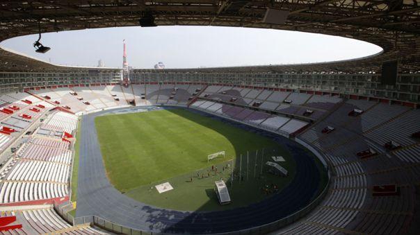 Selección Peruana juega de local en el Estadio Nacional