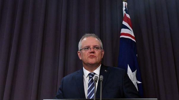 El primer ministro de Australia, Scott Morrison, denunció el ciberataque en una conferencia de prensa en el Parlamento.