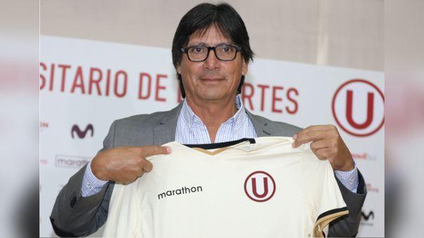 Ángel Comizzo presentado en la 'U' en 2019