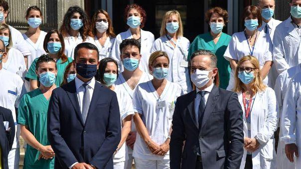 Desde que se detectó el primer caso local el 21 de febrero, Italia ha registrado 34 634 fallecidos por coronavirus y más de 238 000 casos totales.
