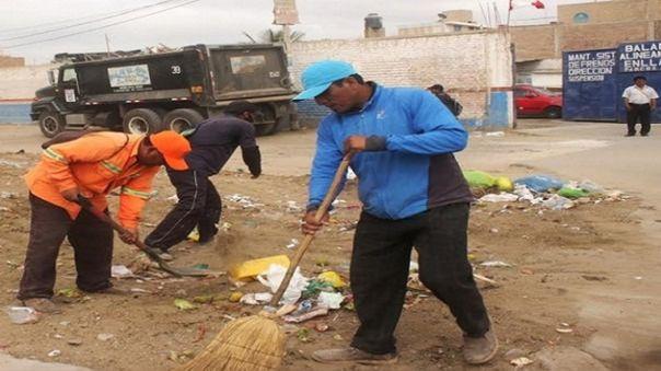 Obreros de limpieza pública temen contagiarse del nuevo coronavirus