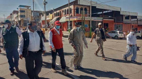 Ministro en Arequipa