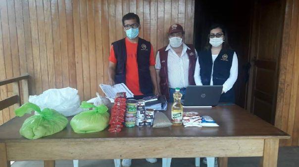 Fiscalía encontró canastas que no fueron repartidas a las familias