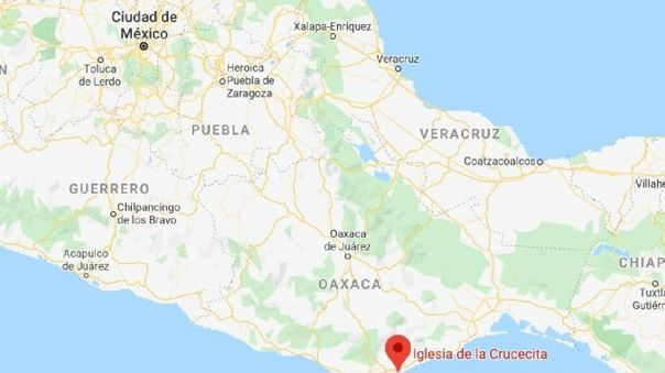 Un sismo de 7,1 sacudió este lunes el sur de México.