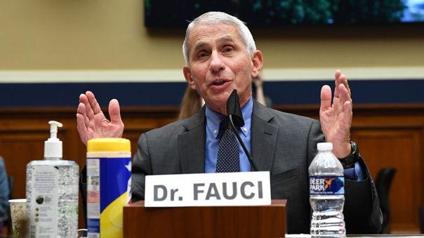 Anthony Fauci testifica ante el Congreso de EE.UU.