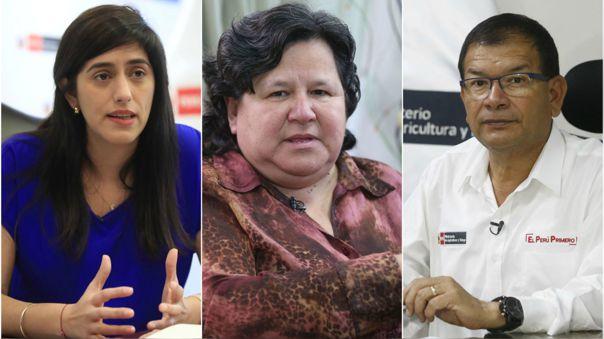 Bancada del Congreso busca interpelar a tres ministros.