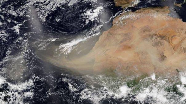 El polvo tiene un efecto directo en la cantidad de nubosidad y lluvias