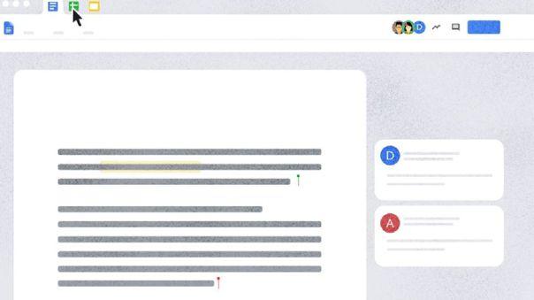 Novedades en Google Docs.