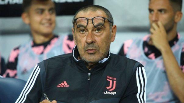 Maurizio Sarri dirige a Juventus desde la temporada 2019-20