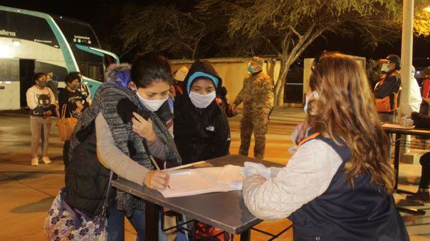 Familias llegaron en viajes humanitarios desde diferentes partes del País
