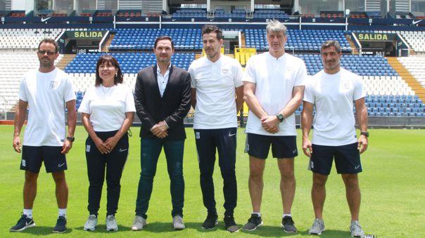 Daniel Ahmed fue presentado en Alianza Lima en 2020