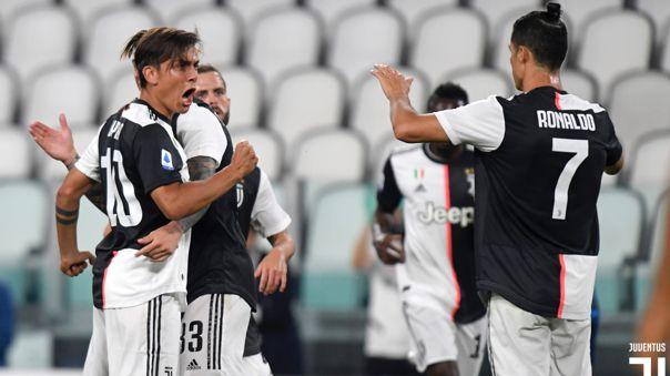 Juventus derrotó a Lecce por a Serie A
