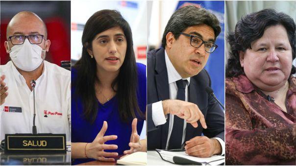 Bancadas presentaron pedidos para interpelar a ministros.