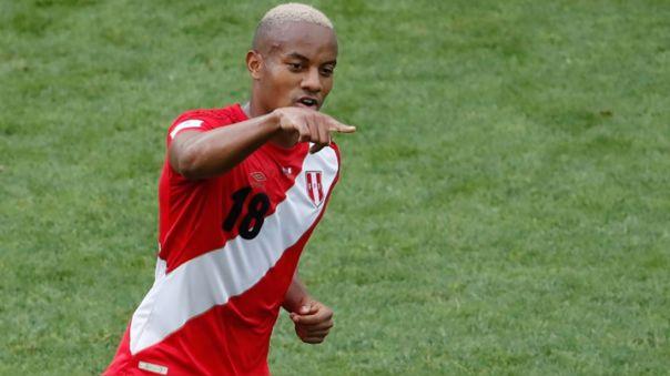 André Carillo marcó el primer gol de Perú en el Mundial 2018