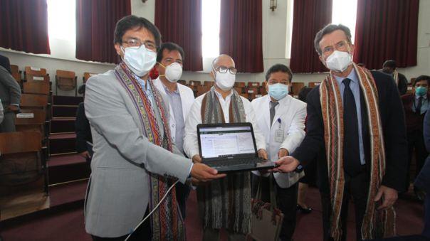 Suscripción convenio de Gobienro a Gobierno entre Perú y Francia.