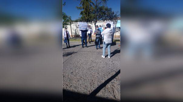 Médicos no pudieron dialogar con el presidente del Consejo de Ministros, Vicente Zeballos