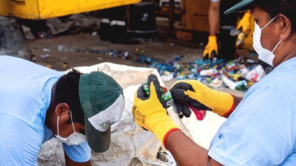 Los recicladores estaban entre las actividades de la primera etapa de reactivación económica.