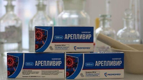 Areplivir es el segundo medicamento implementado por el Gobierno de Rusia para dar tratamiento a personas infectadas por la COVID-19, luego que en mayo se aprobara utilizar el Avifavir.