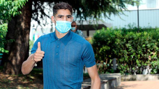 Achraf Hakimi pasó el reconocimiento médico con el Inter y firmará en las próximas horas