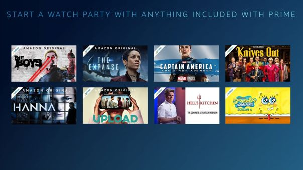 Watch Party de Amazon Prime Video.