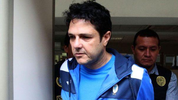José Zaragoza el día de su detención en mayo del 2017.