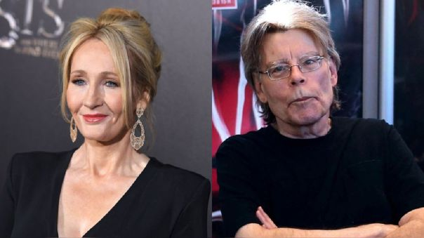 J.K. Rowling y Stephen King