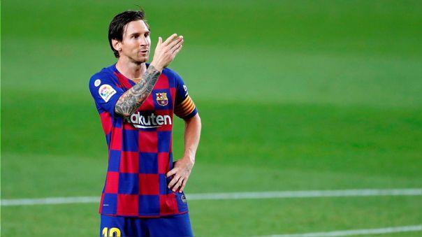 ¡Abusivo! Messi alcanzó su gol 700 con un penal a lo 'Panenka' ante Jan Oblak