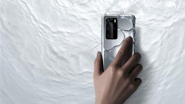 El P40 Pro 5G de Huawei, un teléfono con gran éxito en China.