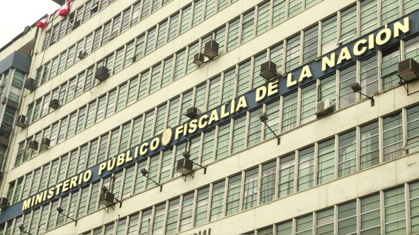 Sede de  la Fiscalía de la Nación en el Centro de Lima.