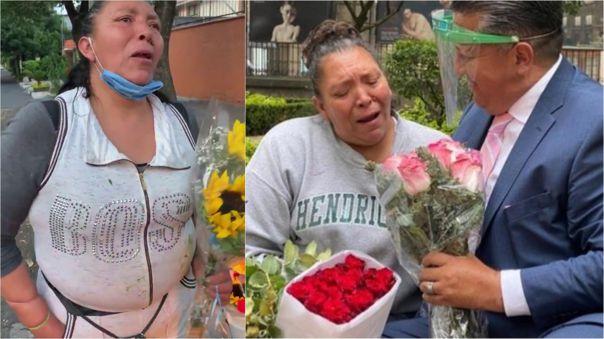 Muchos usuarios de Twitter buscaron a la vendedora de flores.