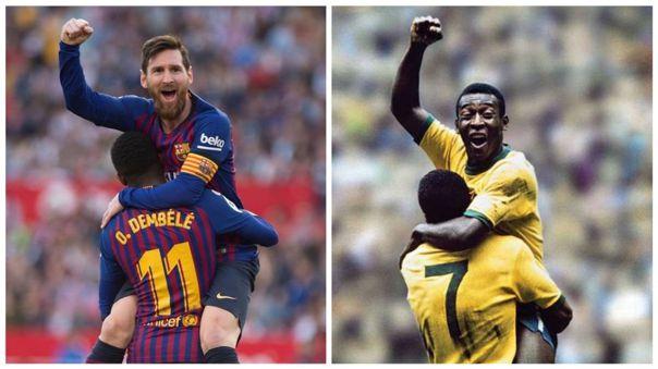 Lionel Messi llegó a los 700 goles en su carrera profesional