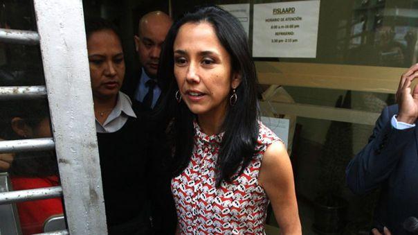 Nadine Heredia enfrenta un pedido de prisión preventiva.