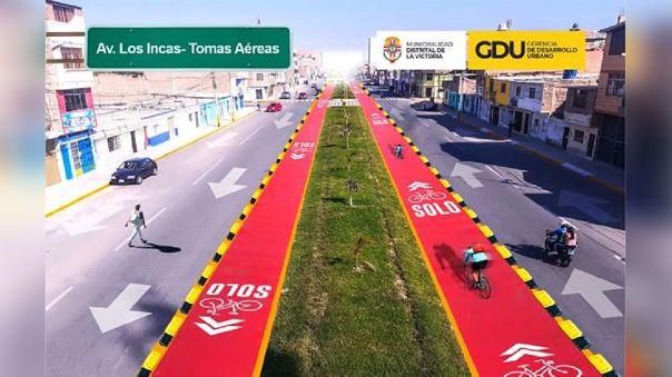 Ciclovías para Chiclayo y la Victoria