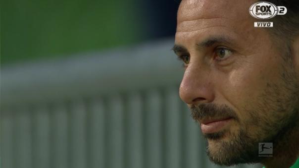 Claudio Pizarro no jugó ante Heidenheim