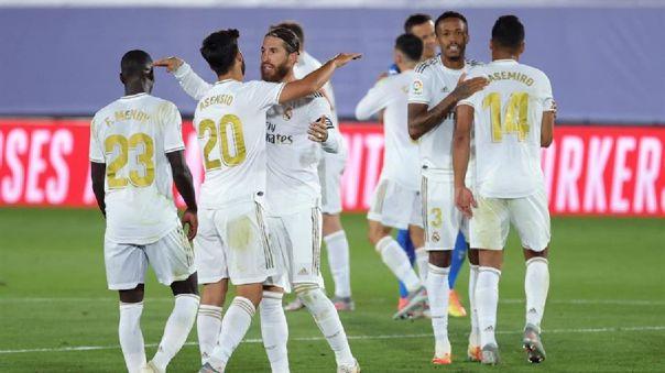 Real Madrid venció 1-0 a Getafe por LaLiga Santander