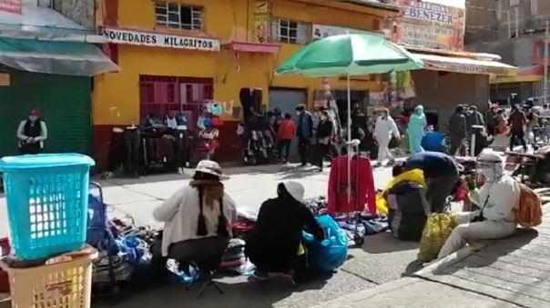 Ambulantes en Huancayo