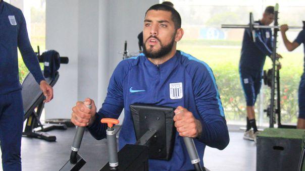 Adrián Balboa convirtió 5 goles con Alianza Lima